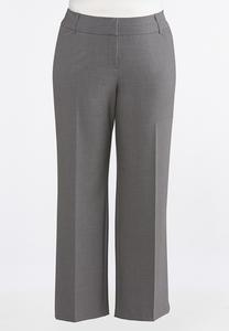 Plus Extended Curvy Fit Trouser Pants