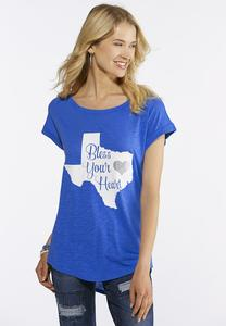 Plus Size Bless Your Heart Texas Tee