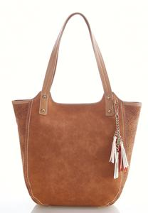 Laser Cut Gusset Hobo Bag