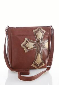 Cross Embellished Crossbody