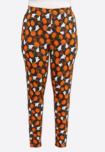 Plus Size Halloween Fun Leggings