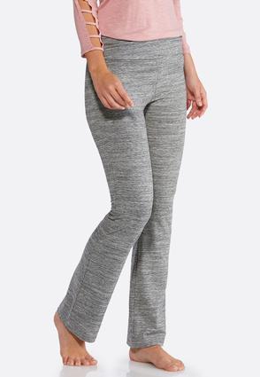Space Dye Soft Knit Pants | Tuggl