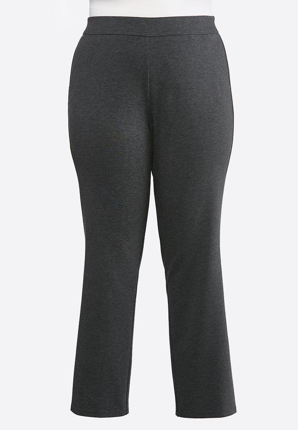 8753a29c348 Plus Size Slim Leg Ponte Pants Pants Cato Fashions