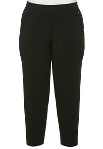 Plus Size Hardware Pocket Pull-On Pants