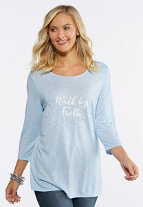 Plus Size Walk By Faith Pearl Top