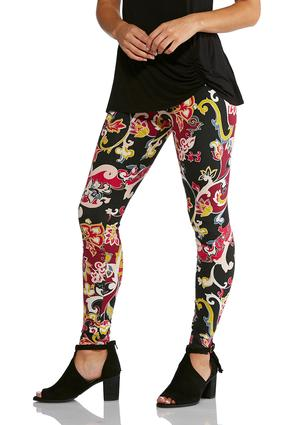 Bright Floral Leggings