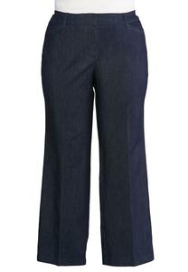 Plus Size Stretch Trouser Pants