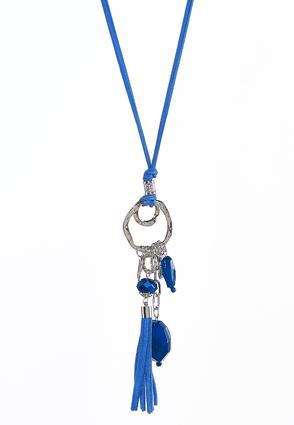 Shaky Charm Pendant Cord Necklace | Tuggl