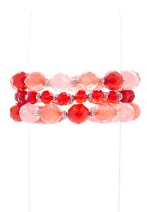 Colored Stretch Bracelet Set