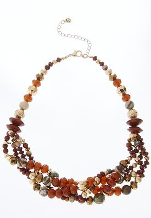 Beaded Swag Necklace | Tuggl