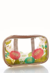 Floral Travel Pouch