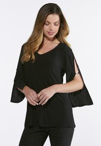 Hardware Bell Sleeve Solid Top