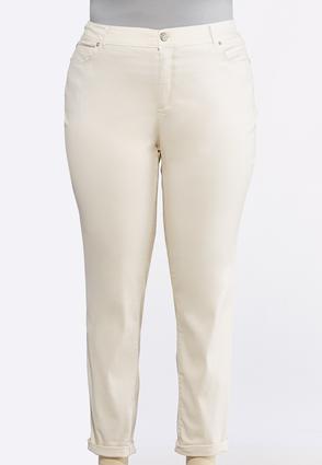 7bdcea9be1 Plus Size Shape Enhancing Color Skinny Jeans