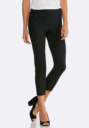 Pull- On Slim Ankle Pants