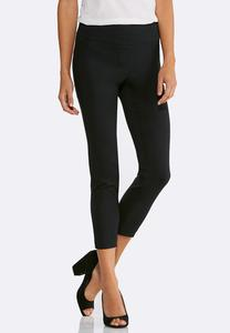 Pull-On Slim Ankle Pants