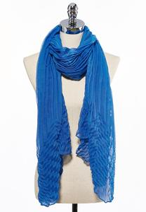 Oversized Textured Oblong Scarf