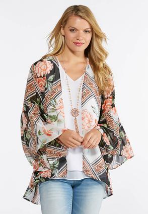 Rose Blossom Kimono | Tuggl
