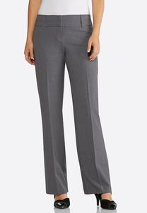 Petite Contemporary Fit Trouser Pants