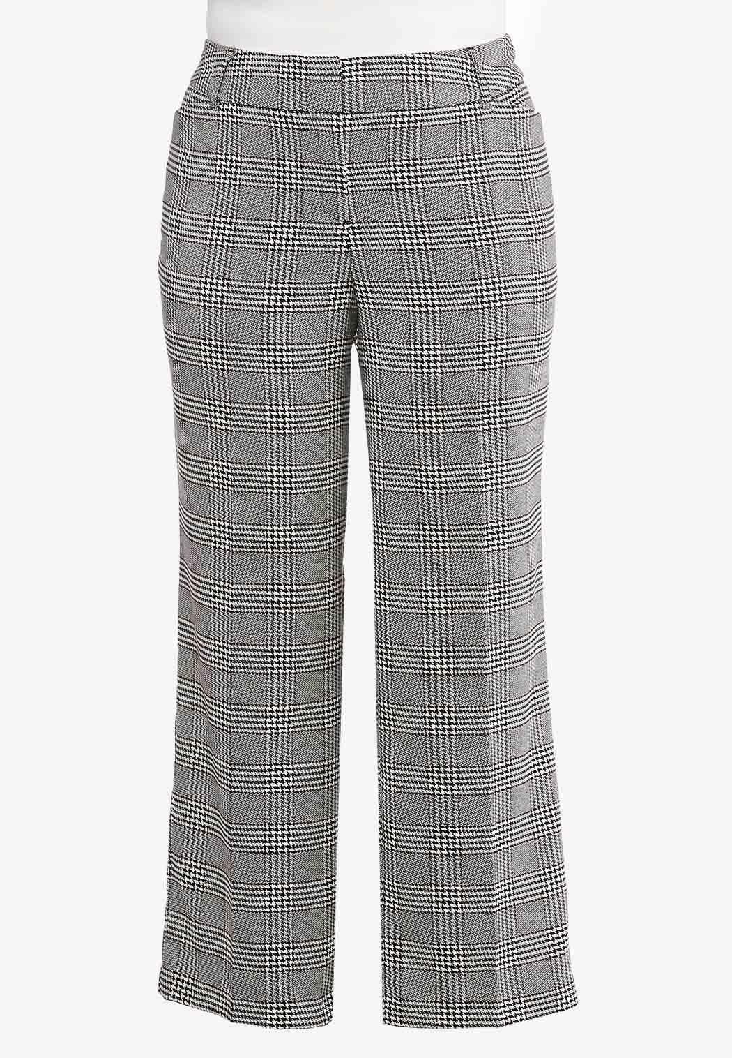 Plus Size Plaid Trouser Pants Pants Cato Fashions - What is a business invoice plus size clothing stores online