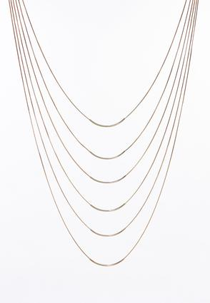 Multi Layer Gold Bar Necklace | Tuggl