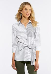 Stripes And Ties Shirt