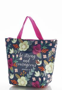 Floral Insulated Tote