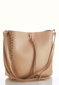 Studded Hobo Crossbody