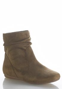 Scrunch Ankle Boots