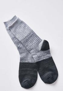 Marled Colorblock Socks