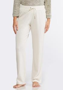 Oatmeal Fleece Pants