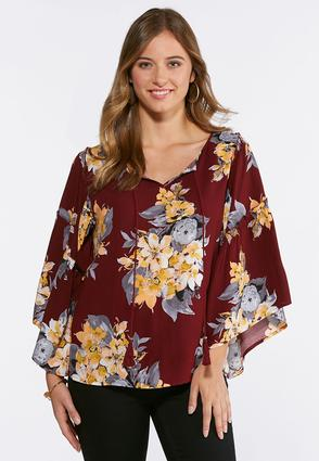 Extreme Bell Sleeve Poet Top