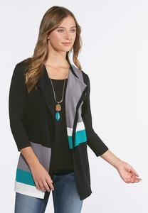Colorblock Sweater Vest
