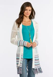 Plus Size Hoodie Cardigan Sweater