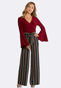 Plus Size Bell Sleeve Jumpsuit