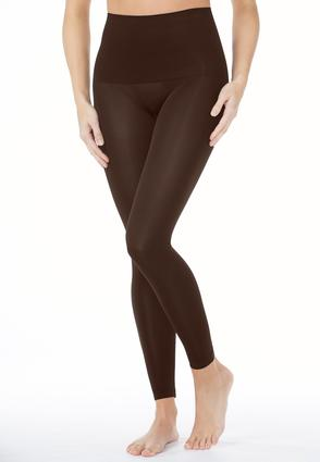 Plus Extended The Perfect Brown Leggings | Tuggl