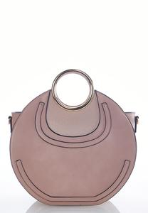 Structured Circle Satchel