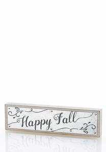 Decorative Fall Plaque
