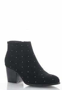 Pin Stud Ankle Boots