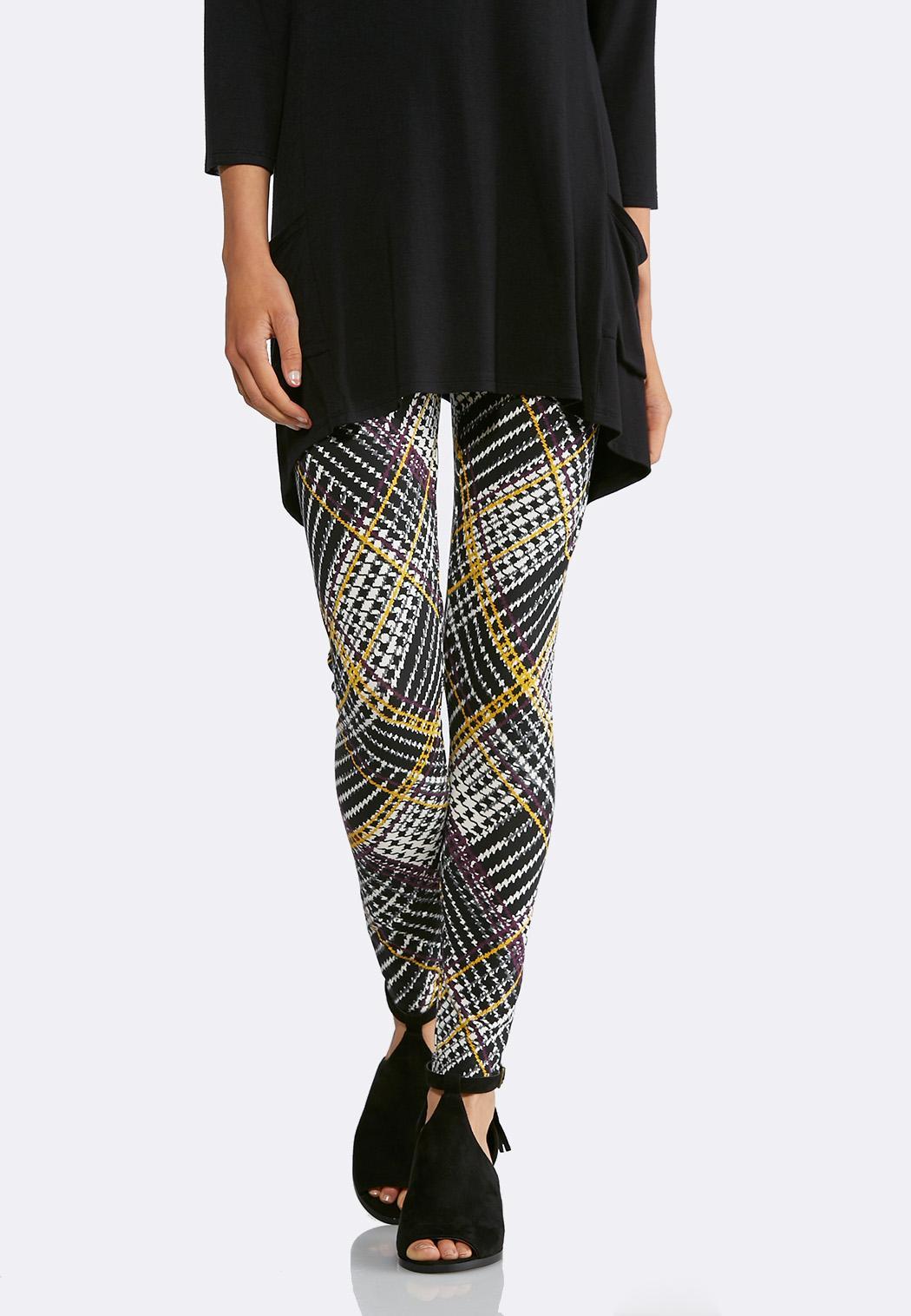 Plus Size Patterned Leggings Cool Design Ideas