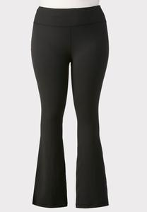 Plus Size Essential Black Yoga Pants