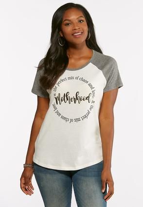 Motherhood Baseball Tee