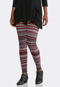Penguin Fair Isle Leggings