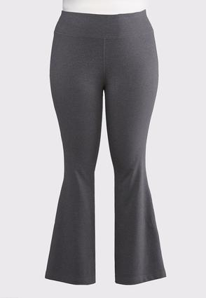 Plus Size Essential Charcoal Yoga Pants