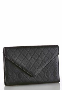 Quilted Envelope Clutch
