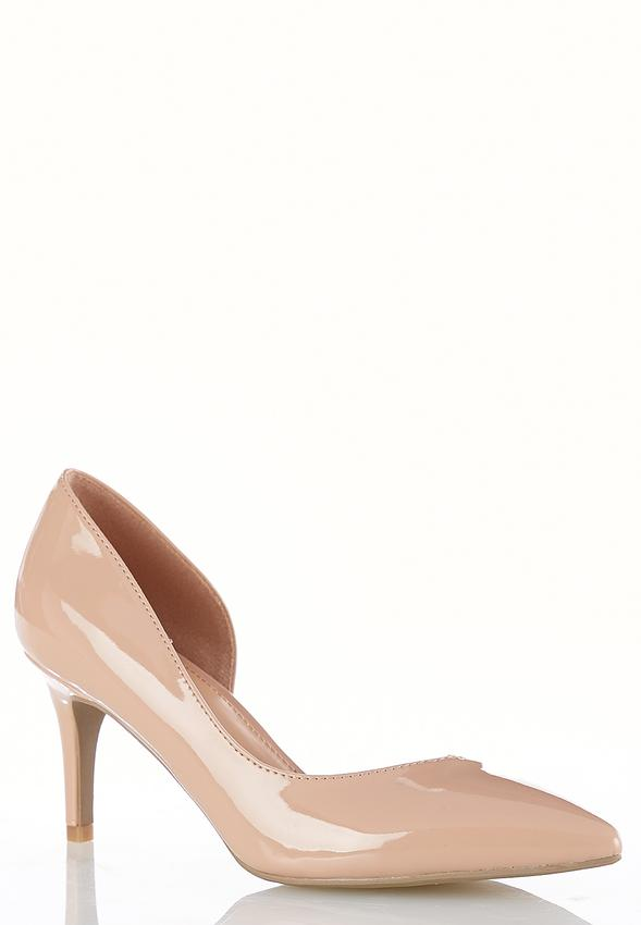 patent low heel pumps heels cato fashions