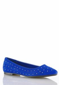 Pin Stud Pointed Flats