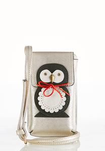 Penguin Cellphone Crossbody