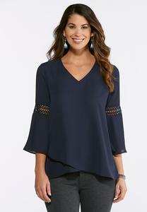 Solid Layered Hem Top
