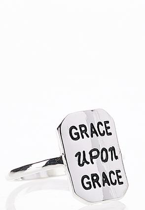 Grace Upon Grace Ring