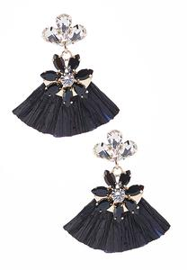 Rafia Statement Earrings